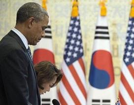 Obama mặc niệm nạn nhân vụ chìm phà ở Hàn Quốc