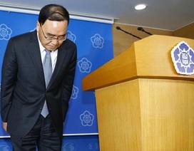 Thủ tướng Hàn Quốc tuyên bố từ chức vì thảm họa chìm phà