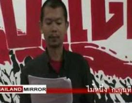 """Một lãnh đạo phe """"áo đỏ"""" Thái Lan bị bắn chết"""