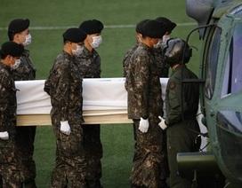 Đắm phà Hàn Quốc: Tìm thấy 48 thi thể chen chúc trong một cabin