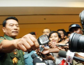 """Tướng Indonesia thừa nhận dùng đồng hồ giả """"Made in China"""""""