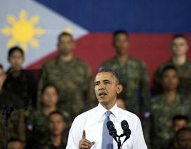 Obama cảnh báo Trung Quốc, ủng hộ Philippines