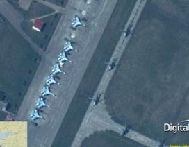 NATO công bố ảnh Nga triển khai lực lượng sát Ukraine, Mátxcơva bác bỏ