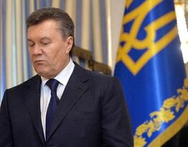 Thụy Sĩ phong tỏa gần 200 triệu USD của ông Yanukovych