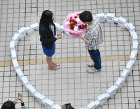 """Những lời cầu hôn ngọt ngào và """"điên rồ"""" nhất Trung Quốc"""