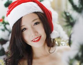 Ngắm nữ sinh Hà Nội xinh đẹp đón Noel