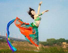Phiêu cùng vũ khúc bellydance của Hoa khôi tài năng trường Điện ảnh