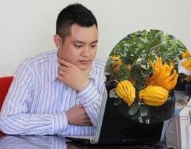 Chàng trai Hà Nội thu nhập hơn 1 tỷ mỗi năm nhờ cây Phật thủ bonsai