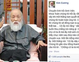 """GS Văn Như Cương kể """"Chuyện tình hồi sinh viên"""""""