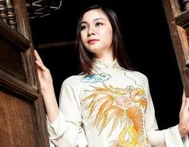 Hoa khôi Sông Lam Nghệ An dịu dàng trong tà áo dài