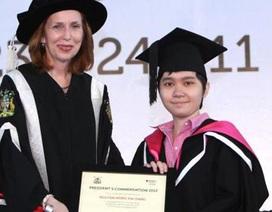 Cô cử nhân 9X xinh xắn và học bổng tới ĐH Oxford danh giá