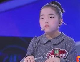 """Dân mạng Trung Quốc """"đắng lòng"""" vì thua trí tuệ bé gái Nhật"""