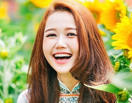 """Ngất ngây trước nụ cười của """"hot girl"""" Nhung Gumiho"""