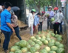 39 tấn dưa hấu của Quảng Ngãi: Đoàn thanh niên bán hết veo trong 3 ngày