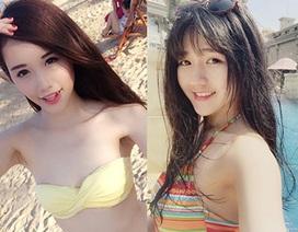 """Nghỉ lễ kéo dài, """"hot girl"""" Việt thỏa sức khoe thời trang bikini"""