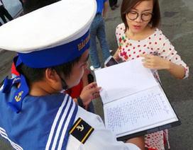 """Tham dự """"Học kỳ trên biển"""" để sẻ chia với chiến sỹ hải quân"""