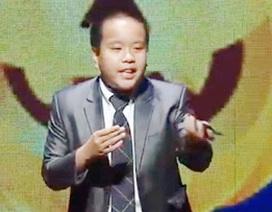 """""""Thần đồng ngoại ngữ"""" Đỗ Nhật Nam làm thơ xúc động về động đất Nepal"""