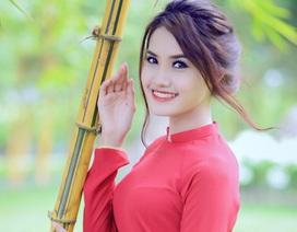 Thiếu nữ 9X Sài thành đẹp thướt tha trong tà áo dài