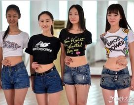 """Trung Quốc: Thi vào trường cũng phải trổ tài """"tay chạm rốn"""""""