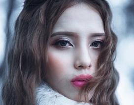 """9x Sài thành hóa thân thành """"công chúa tuyết"""" xinh đẹp"""