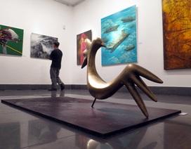 """""""Tiếng vọng từ thiên nhiên"""" tại Hà Nội của 30 họa sĩ châu Á"""