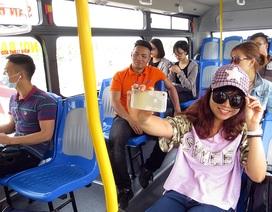 """Hà Nội: Trải nghiệm xe buýt """"5 sao"""" đi sân bay Nội Bài"""