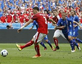 Video clip bàn thắng và tình huống trận Iceland 2-1 Áo