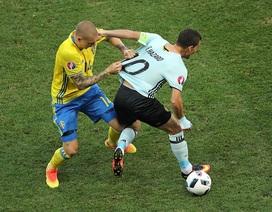 Video clip bàn thắng và tình huống trong trận Thụy Điển 0-1 Bỉ