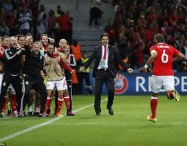 Niềm hạnh phúc vô bờ bến của cầu thủ Wales sau chiến tích lịch sử