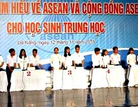 Học sinh Đà Nẵng thi hiểu biết về Cộng đồng ASEAN
