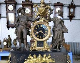 Ngắm đồng hồ trăm tuổi tiễn năm cũ, đón năm mới