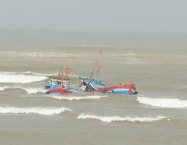 Tàu Hải quân lên đường ứng cứu tàu cá trôi dạt 6 ngày ở Hoàng Sa