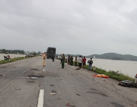 Nam thanh niên chết thảm sau cú tông mạnh với xe tải