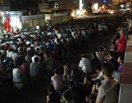 Hàng nghìn người đứng kín đường dự lễ Vu Lan tại Tổ đình Phúc Khánh