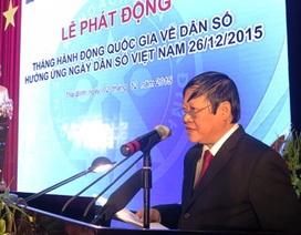 """Dân số Việt Nam chính thức bước vào thời kỳ """"già hóa"""""""