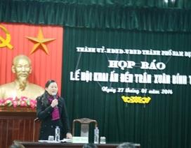 Lễ hội đền Trần 2016 sẽ phát ấn cho du khách sớm hơn năm trước