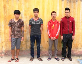 Bắt nhóm cướp giật tài sản từ TPHCM trôi dạt về Nam Định