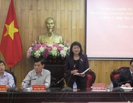 Phó Chủ tịch nước kiểm tra công tác chuẩn bị bầu cử tại Hà Nam