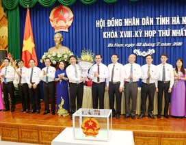 Ông Nguyễn Xuân Đông tái đắc cử Chủ tịch UBND tỉnh Hà Nam