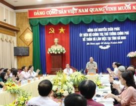 Thủ tướng: Hà Nam cần khai thác tốt thế mạnh cửa ngõ Thủ đô
