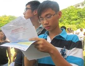 Nhiều thí sinh còn mơ hồ về xét tuyển ĐH, CĐ