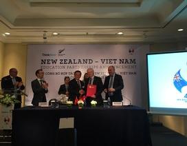 Hàng loạt trường ĐH của New Zealand và Việt Nam ký kết hợp tác