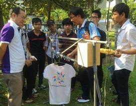 Sinh viên năm nhất sáng tạo trong Ngày hội Kỹ thuật