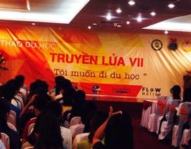 """500 bạn trẻ tham dự hội thảo du học """"Truyền lửa"""""""