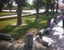 """Khuôn viên đài tưởng niệm Xô Viết - Nghệ Tĩnh xuống cấp: """"Lộ"""" thêm nhiều hạng mục chưa được làm"""