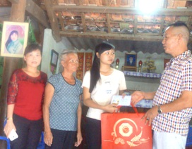 Những tấm lòng hảo tâm tiếp tục tiếp sức cho 2 nữ sinh nghèo xứ Nghệ