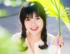 Ngắm gương mặt khả ái của nữ sinh chuyên Anh xứ Quảng