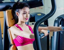 """Tân Hoa khôi Ngoại thương có thân hình """"chuẩn"""" người mẫu"""