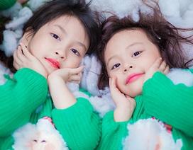Bộ ảnh đáng yêu của các thiên thần nhí mùa Noel