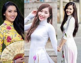 Top 20 Miss Du học sinh đọ sắc trước ngày công bố kết quả